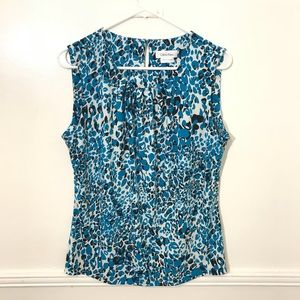 Gorgeous Calvin Klein large sleeveless blouse